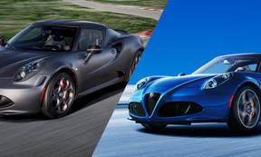 「Alfa Romeo 4C」のDNA 限定車「4C Competizione」と「4C Spider Italia」