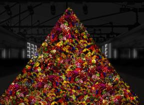 1万輪の生花のフラワーツリーも ポーラ「B.A」の世界観体感イベント