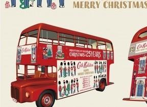 「ロンドンバス」で渋谷・新宿のイルミネーションスポットを堪能