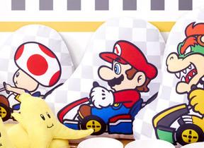 「マリオカート」の一番くじ ゲームのシーンが家の中で使えるアイテムに