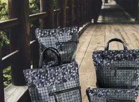 京都の整然さとイタリアの感性が融合 パネルデザインバッグ
