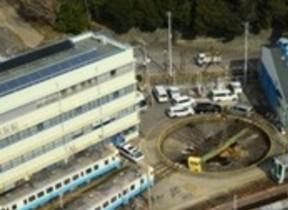 鉄道の見える部屋に宿泊 JRホテルクレメント徳島で