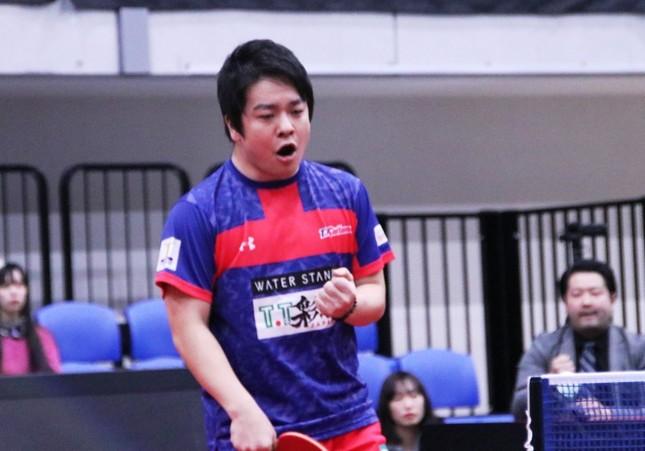 第3マッチに登場したT.T彩たま・岸川聖也選手