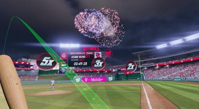 MLBの臨場感をVRで体験できる「ホームランダービー」