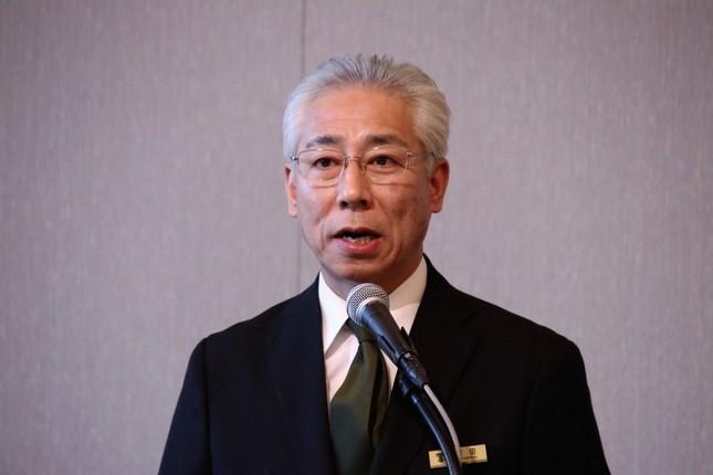 本舘総支配人の吉田寛氏