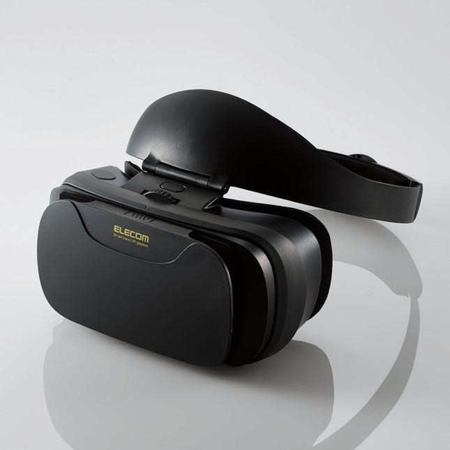 帽子をかぶるように装着、VRコンテンツを快適に楽しめる