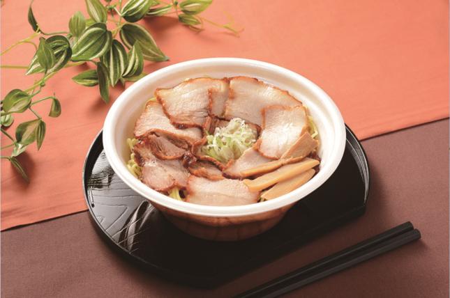 肉麺!醤油ラーメン(チャーシュー盛り)