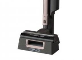 床とモップ掃除が同時にできる 「二刀流」スティッククリーナー上重心タイプ