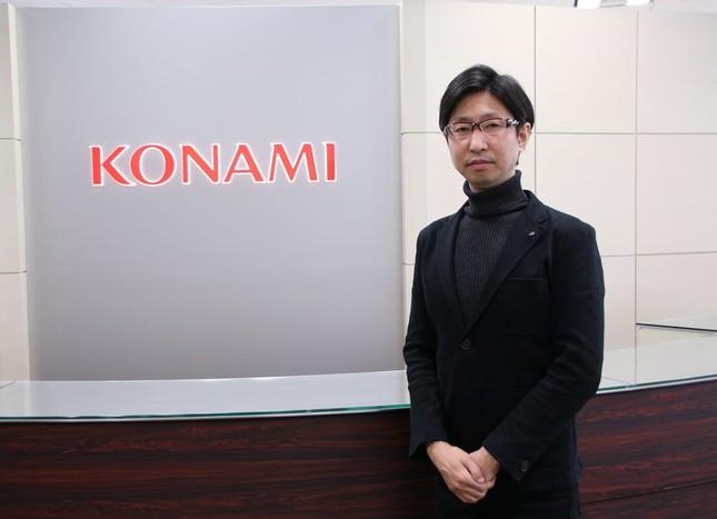 コナミデジタルエンタテインメント・プロモーション企画本部の車田貴之副本部長