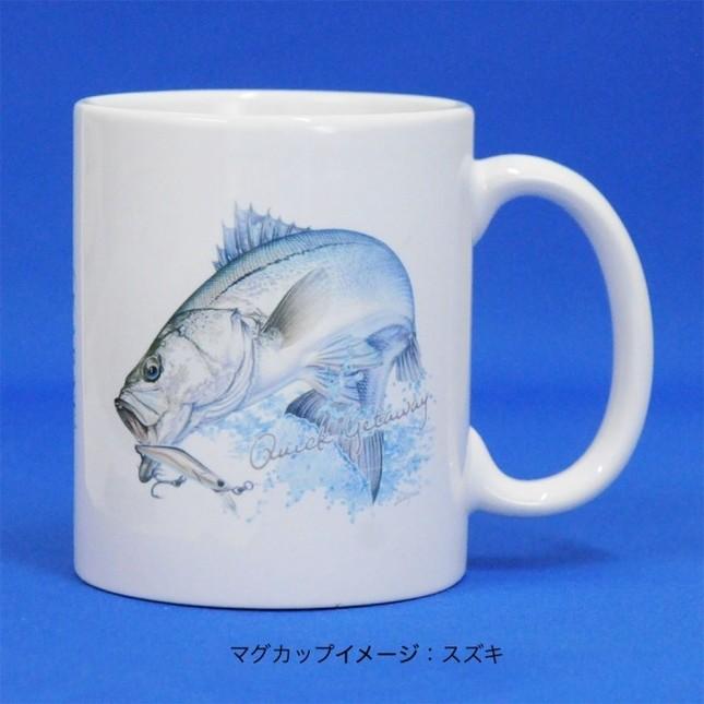 美しい魚のプリントをあしらったアパレルアイテムほか
