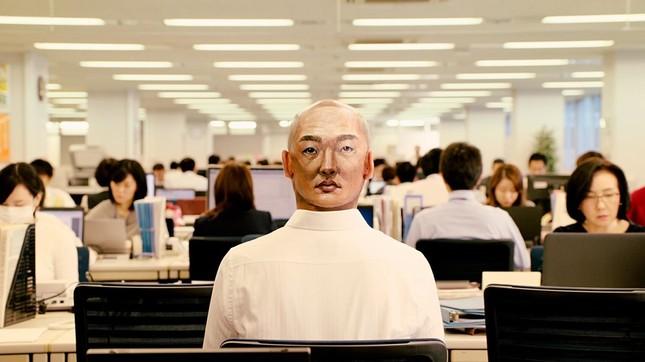 CMラストは東洋紡のオフィスで撮影