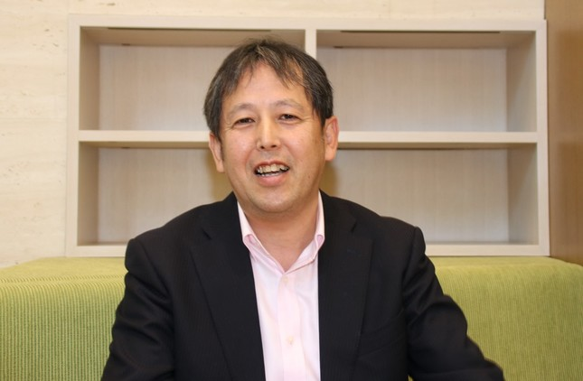 渡辺広明さん(写真は2018年12月撮影)