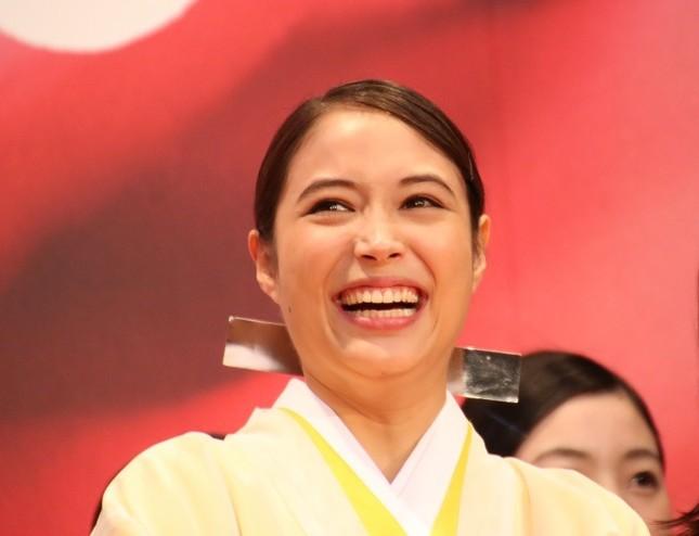 広瀬アリスさん(2017年撮影)