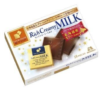 冬らしい口どけにこだわったリッチなチョコ