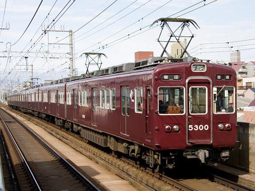 京都線阪急5300系