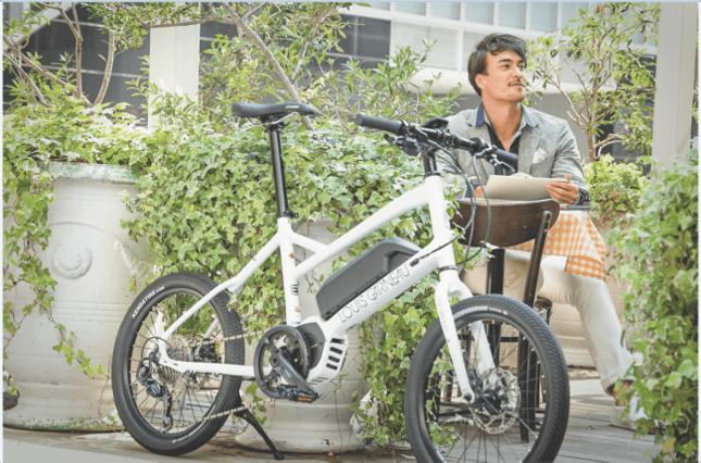 日本の街乗りに対応したミニベロタイプのe-bike登場!