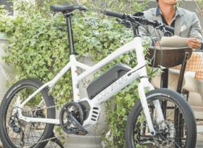 坂道や信号の多い日本の街乗りに対応した「e-bike」