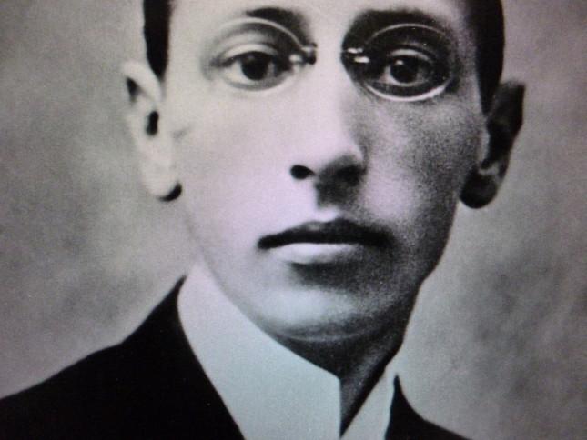 若きストラヴィンスキーの肖像