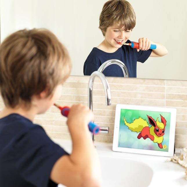 ポケモンと一緒に、毎日楽しく歯磨き