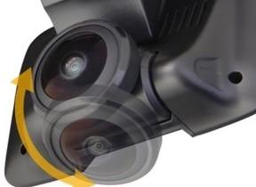 高画質で全方位撮影 360度撮影カメラ搭載「ドライブレコーダー」