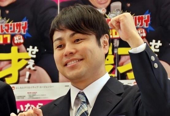 お笑いコンビ「NONSTYLE」の井上裕介さん(2017年4月撮影)