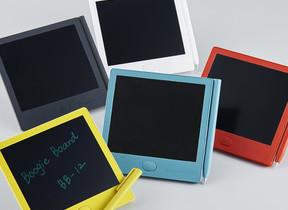 「付せん」サイズ電子メモパッド スタイラスや爪で画面に書き込める