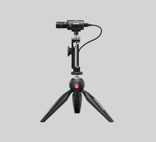 高音質でハイクオリティーな録音や動画撮影がすぐに行えるセット
