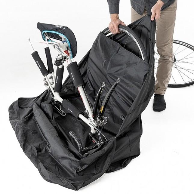 初心者でも簡単に自転車を収納できる!