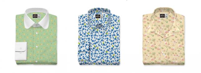 151種のオリジナルポケモンプリント生地からシャツをカスタマイズ!