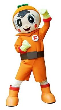 「フルーツ戦士オレンジマン」