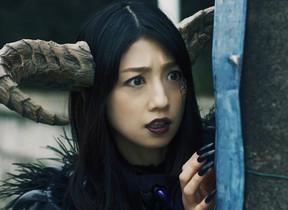小倉優子「怪人ママ」を熱演 ワイモバイルのウェブ動画「怪人家族の憂鬱」シリーズ