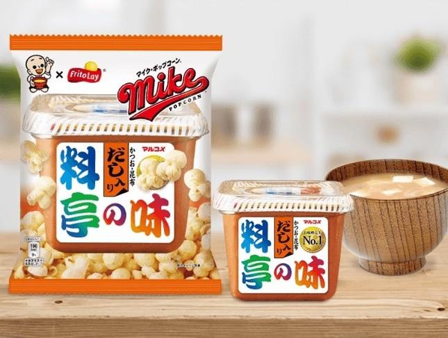 日本の味がポップコーンに