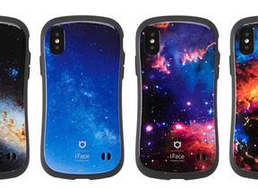 広大な宇宙柄の「iFace」 iPhone向けケース