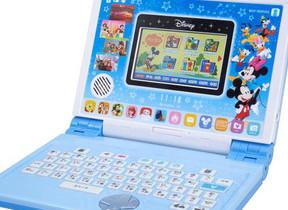 ディズニー&ピクサーのキャラと楽しく勉強 パソコン型玩具
