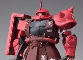 「機動戦士ガンダム THE ORIGIN」版 「シャア専用ザク2」「ガンダム」完成品モデル