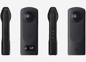 4K相当の高画質 360度・全天球撮影可能なカメラ