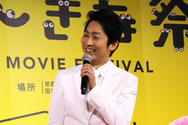 「クソみたいな映画」脚本と監督を担当した石田明(ノンスタイル)さん