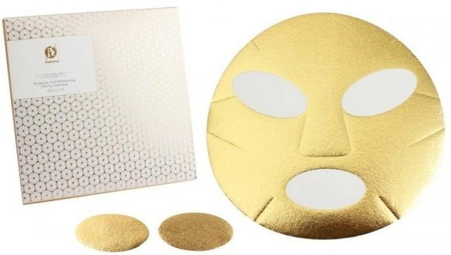 純金とうるおい成分がとろけてなじむ新感覚の贅沢マスク登場!