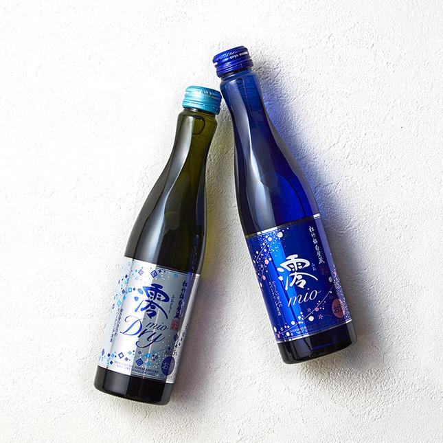 宝酒造が販売するスパークリング清酒、松竹梅白壁蔵「澪(みお)」