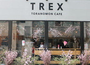 ランチタイムにお花見! 期間限定カフェが東京・虎ノ門にオープン