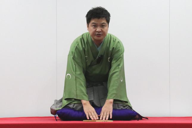 東京理科大学で講師を務める月亭方正さん