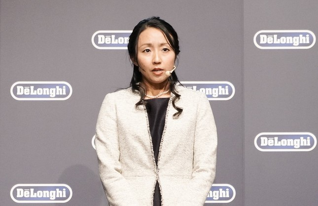 デロンギ・ジャパンのプロダクトマネージャー、西岡祐子さん