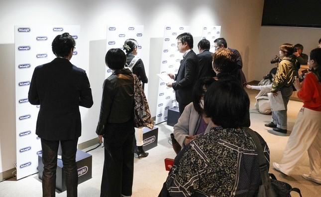 「デロンギ 空気清浄機能付きファン Clean&Cool」発表会の様子(2)