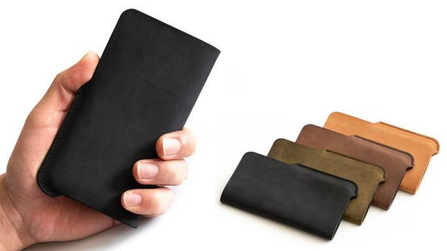 使い込むほどにフィットする厚革製 ビジネスシーンに合う4色
