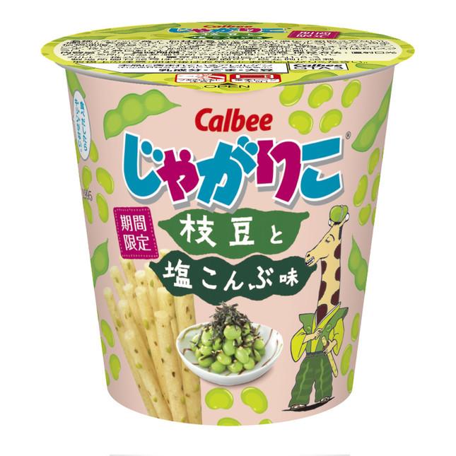 枝豆×塩昆布の新しい味わい