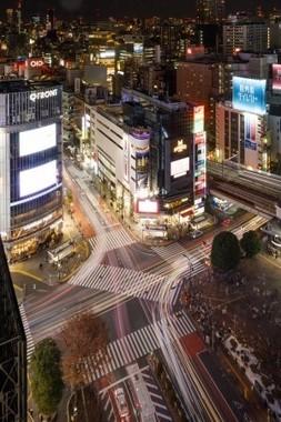 改元の夜に渋谷に泊まる