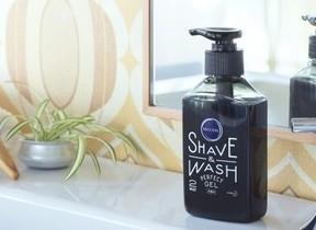 洗顔とヒゲ剃りが一気にできる 「サクセス」男性向けジェル洗顔料
