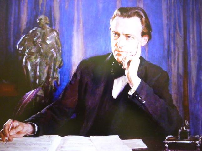 ジョージ・ホール・ニールによって描かれた スコットの肖像画