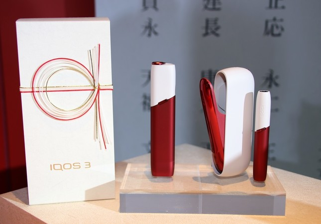 日本限定販売モデル「IQOS 3 NIPPON 祝賀モデル」、「IQOS 3 MULTI NIPPON 祝賀モデル」