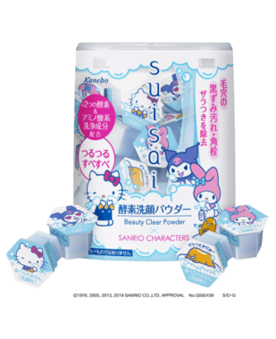5年連続売上No.1の酵素洗顔料にサンリオキャラクターデザイン
